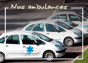 Nos ambulances Jacky