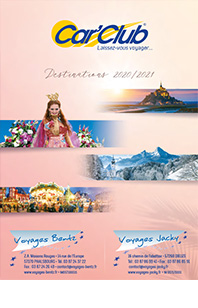 Brochure Voyages Jacky 2020 - 2021